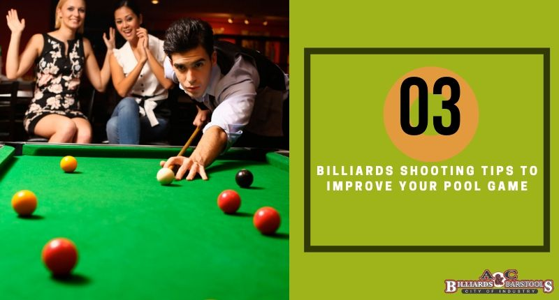 Billiards shooting tips